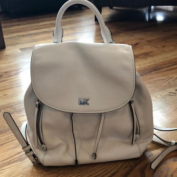 d4342c6620fb Michael Kors VIV Large Pebbled leather back pack. M 5c3cf1652beb79099cb61da6